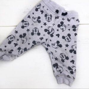 H&M Mickey Mouse Sweatpants